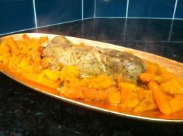 The Crock Pot Paleo Coconut Curry Pork Tenderloin Stew is ready to devour