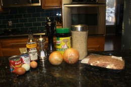 Paleo Meatloaf Ingredients