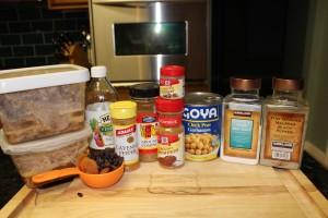 Leftover Makeover: Moroccan Pork Stew Ingredients