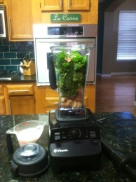 Now THAT is a blender, the amazing Vitamix!