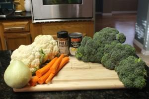 Paleo Broccoli Vegetable Soup Ingredients