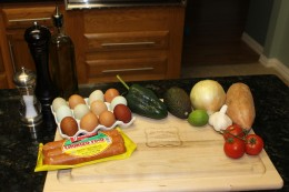 Yummy Paleo Migas Ingredients