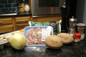 Paleo Pork Sausage Veggie and Egg Breakfast Casserole Ingredients