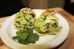 Just one of the many close ups you will see of my Paleo Avocado Chicken Salad