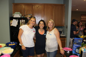 My wonderful girlfriends, Jess and Lisa