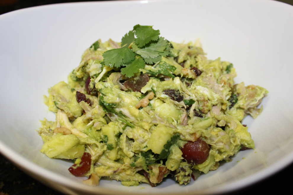 Paleo Avocado Chicken Salad - Our Full Plate