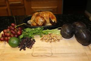 My Paleo Avocado Chicken Salad Ingredients