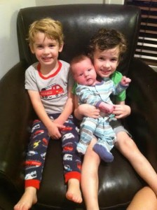 "I am such a proud ""Boymom"" to three beautiful boys."