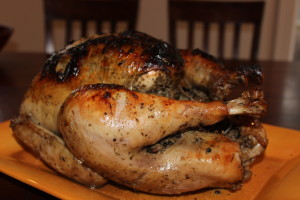 Close up of my delicious Cuban Turkey