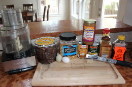 Paleo Pumpkin Pie Bar Ingredients