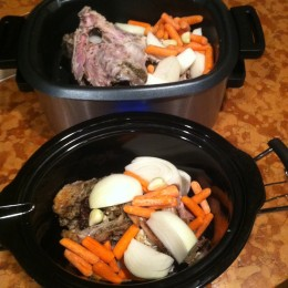 And don't forget to keep the bones and make your homemade turkey broth. Just add bones, onions, carrots, garlic and little apple cider with water in your crock pot and cook for 24 hours!