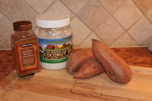 My 21 DSD Sweet Potato Puree Ingredients