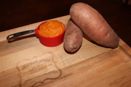 My 21DSD Sweet Potato Puree is ready to eat as a side to any meal or store in separate containers in 1/2 to 1 cup servings to eat after a workout