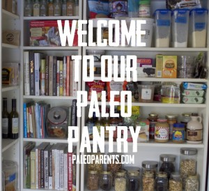 Loved seeing their actual Paleo Pantry