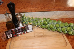 My Paleo Roasted Brussel Sprouts Ingredients
