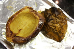 I clearly like to cook my acorn squash for awhile. It's so good.