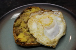 My Paleo Pork Sausage Acorn Squash Hash looks like a heart which is a perfect shape for this meal since it will fill your heart and belly when you have tasted it and devoured every last crumb!