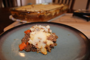 Up close and personal with Paleo Shepherd Pie