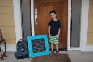 My BIG boy is off to Kindergarten