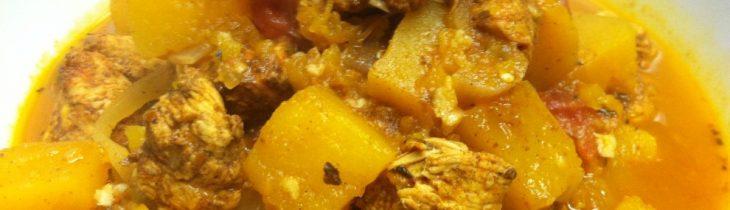 Chicken Tagine with Butternut Squash