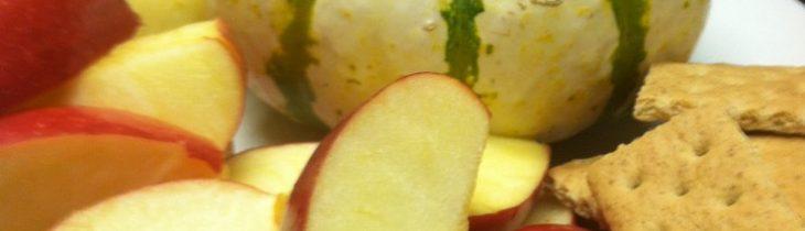 Close up of the Pumpkin Dip