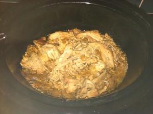 Crock Pot Cuban Pernil all done