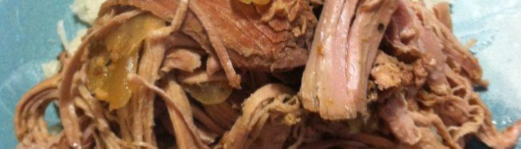 Crock Pot Cuban Pernil and Coconut Cauliflower Rice