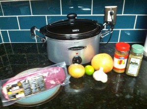 Crock Pot Cuban Pork Pernil Ingredients