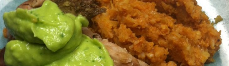 Cuban Crock Pot Pork Shoulder Pernil Carnitas style