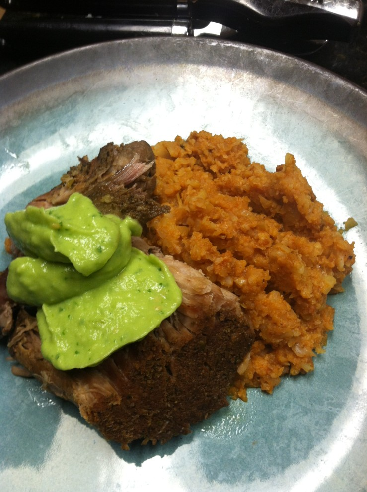 Paleo Crock Pot Pork Shoulder Pernil Carnitas Style Our Full Plate