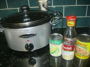 Green Chile Chicken Ingredients