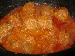 Italian Meatballs=Heaven All cooked