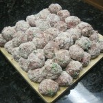 Meatballs=Heaven all rolled out