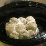 Meatballs=Heaven in crockpot