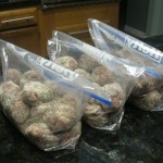 Meatballs=Heaven ready to freeze