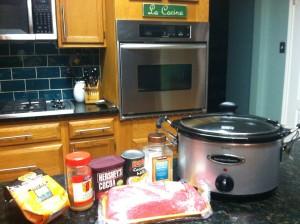 Paleo Crock Pot Coffee and Chocolate Brisket Ingredients