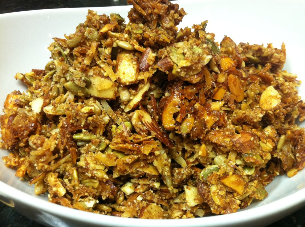 Homemade paleo granola crunch our full plate ccuart Gallery